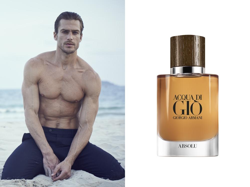 Giorgio Armani acqua di glo absolu 2018 - Giorgio Armani 男香 水与木最完美的结合