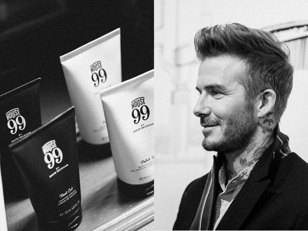 House 99 by David Beckham grooming line brand BIG - House 99 by David Beckham ,给予男士全面保养!