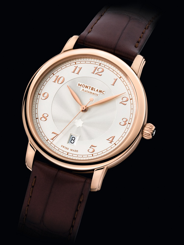 Montblanc Star Legacy Automatic Date 18k red gold 39mm  - Montblanc Star Legacy  经典延续,传承精髓!