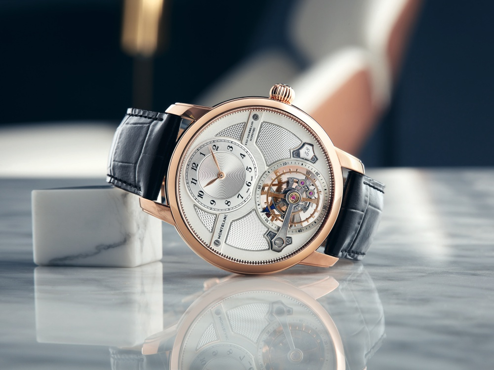 Montblanc Star Legacy Suspended Exo Tourbillon Limited Edition 58 BIG  - Montblanc Star Legacy  经典延续,传承精髓!