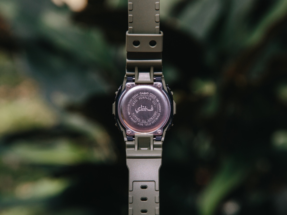 casio g shock x sbtg collection 5 - Casio G-Shock x SBTG 联名腕表 诠释现代军事风格