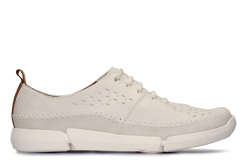 clarks spring summer trigenic shoes collection slip white  - Clarks 春夏之履,闲适自得