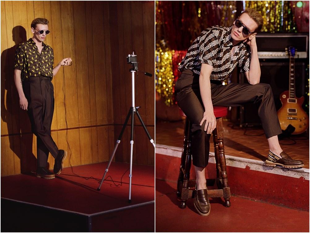 fendi jamie campbell eyewear campaign 1 1 - Fendi 春夏墨镜,Jamie Campbell率性演绎