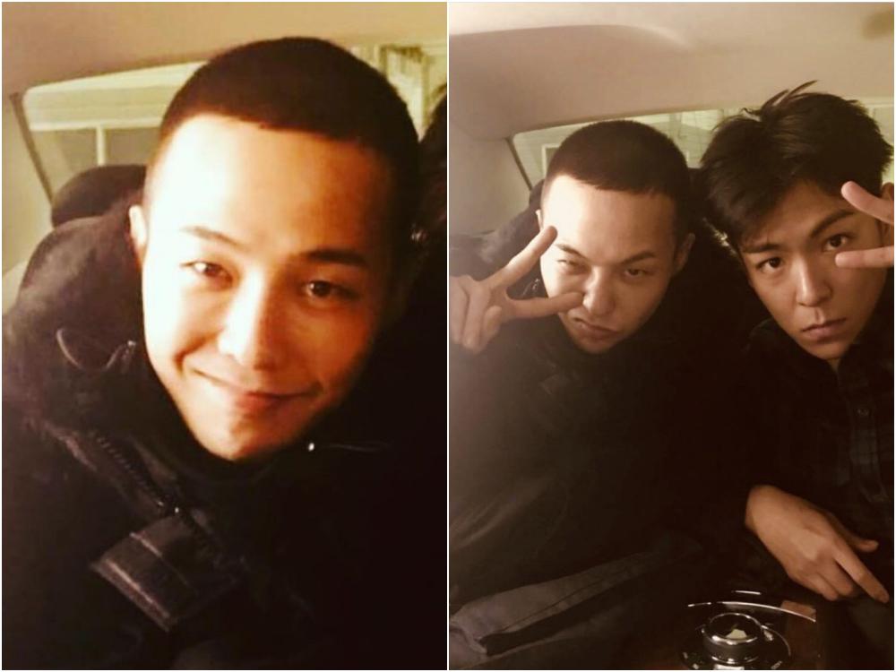 korean military haircut gd 3 - 入伍平头造型,更显时髦刚毅气息