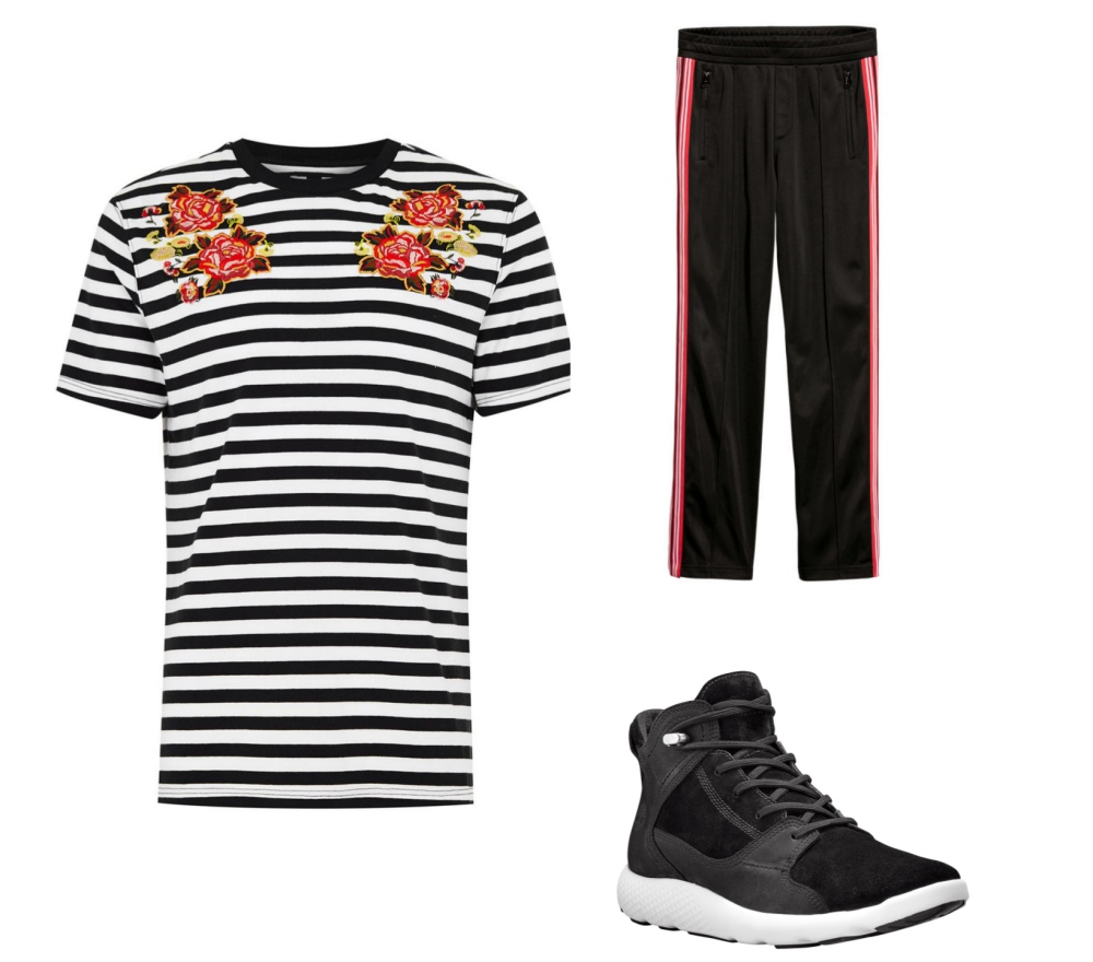 line stripe fashion mens style mix and match guide look 10 - 时尚条纹造型10个looks!