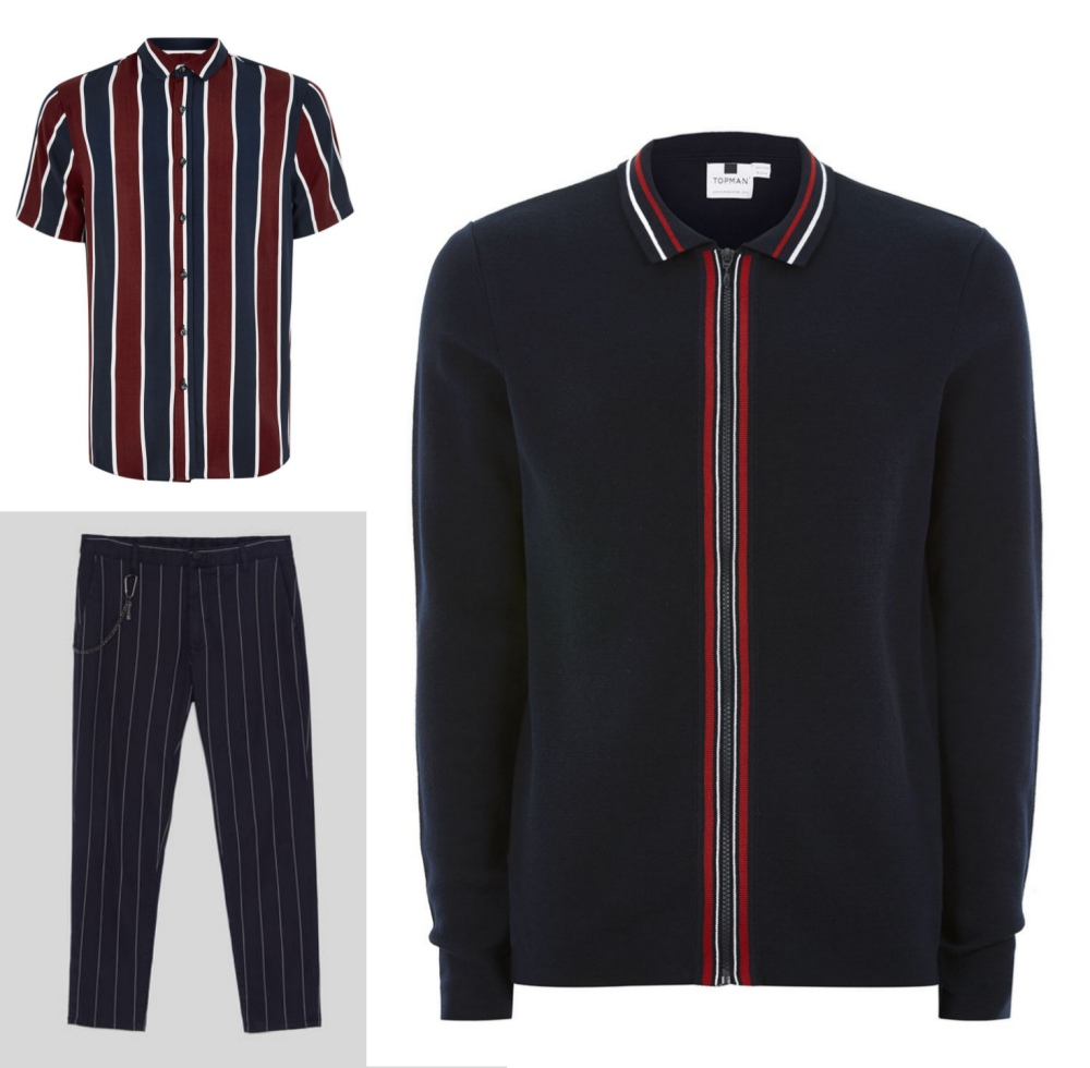 line stripe fashion mens style mix and match guide look 6 - 时尚条纹造型10个looks!