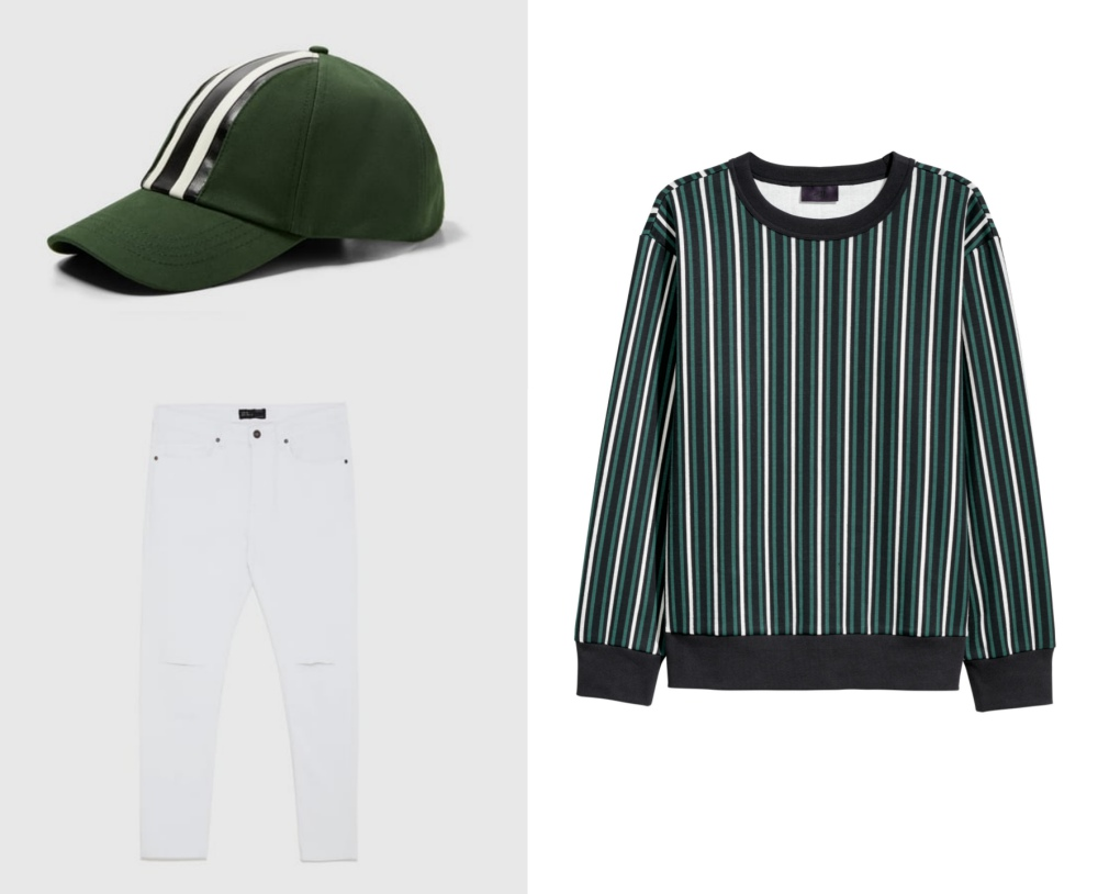 line stripe fashion mens style mix and match guide look 7 - 时尚条纹造型10个looks!