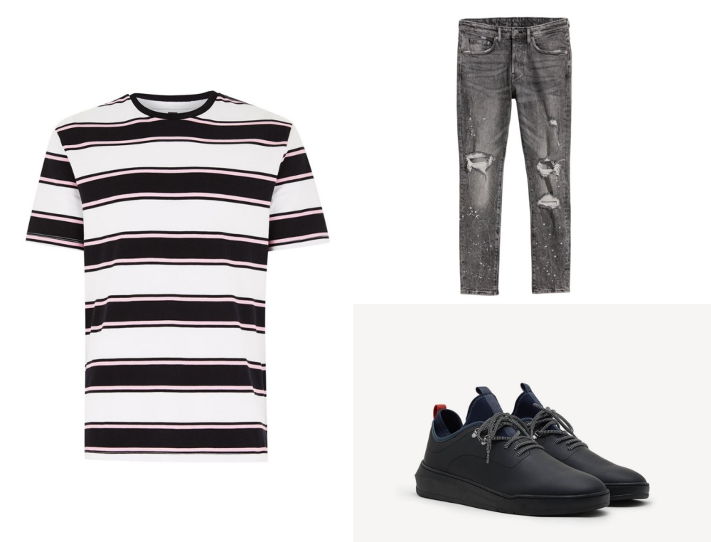 line stripe fashion mens style mix and match guide look 8 - 时尚条纹造型10个looks!