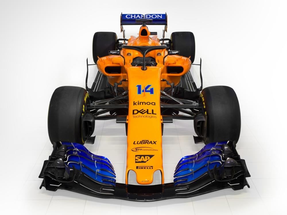 mclaren f1 orange mcl33 using akzonobel coating technology BIG  - AkzoNobel 助 MCL33 回归标志象征!