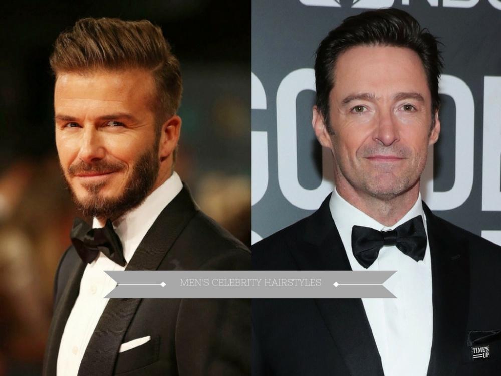 mens celebrity hairstyles  - 熟男魅力更迷人:看巨星们的时尚发型