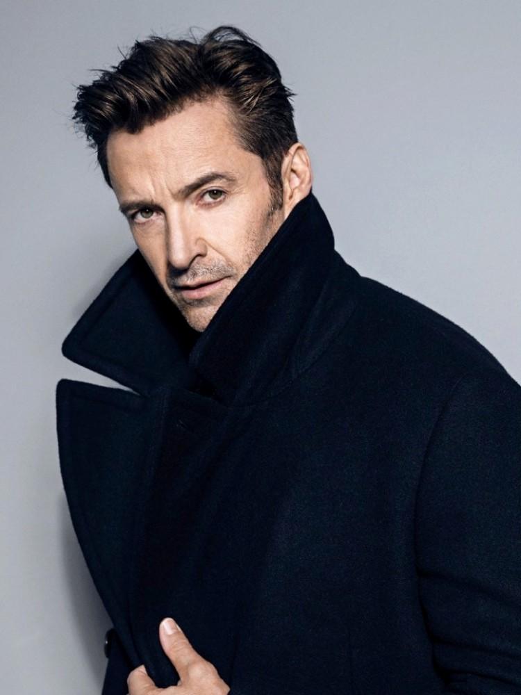 mens celebrity hairstyles hugh jackman  - 熟男魅力更迷人:看巨星们的时尚发型