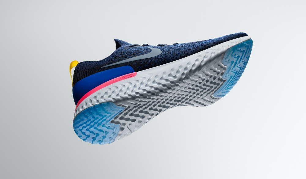 nike epic react flyknit sole details - 实力创新 Nike Epic React Flyknit 全新跑步体验!
