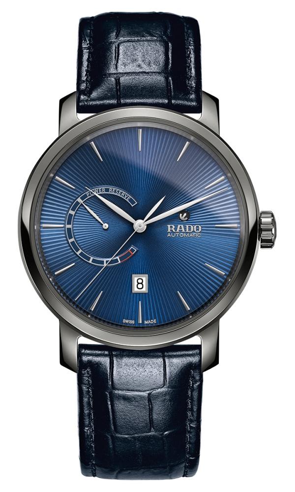 rado diamaster power reserve - 风格不同的表款,迎合你日常的搭配所需!