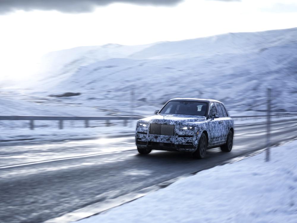 rolls royce cullinan new high bodied vehicle 1 - Rolls-Royce Cullinan 誉为行走的宝钻!
