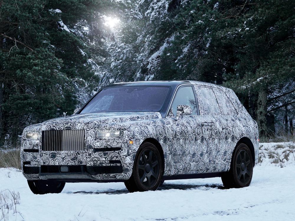 rolls royce cullinan new high bodied vehicle 3 - Rolls-Royce Cullinan 誉为行走的宝钻!
