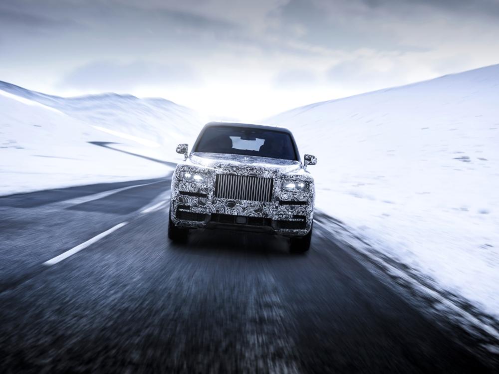 rolls royce cullinan new high bodied vehicle BIG  - Rolls-Royce Cullinan 誉为行走的宝钻!