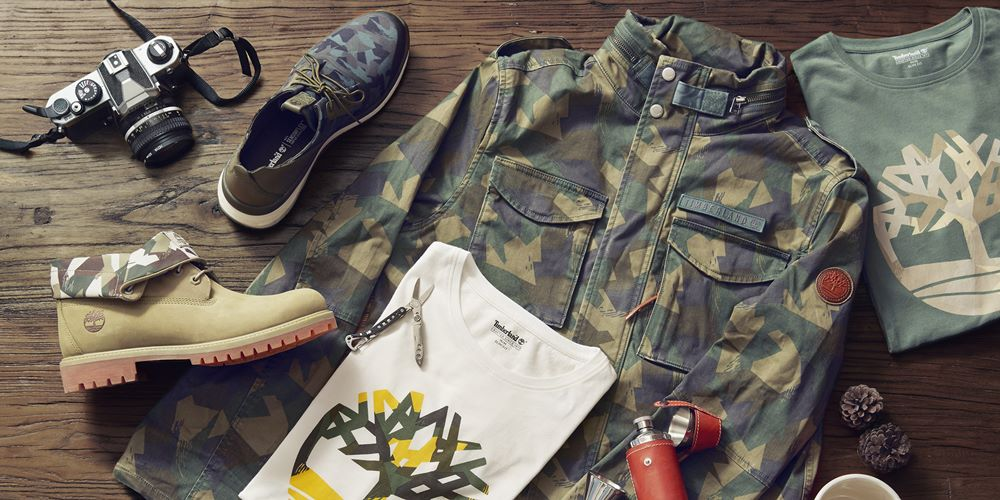 timberland camouflage accessories - Timberland 迷彩系列 探险城市!