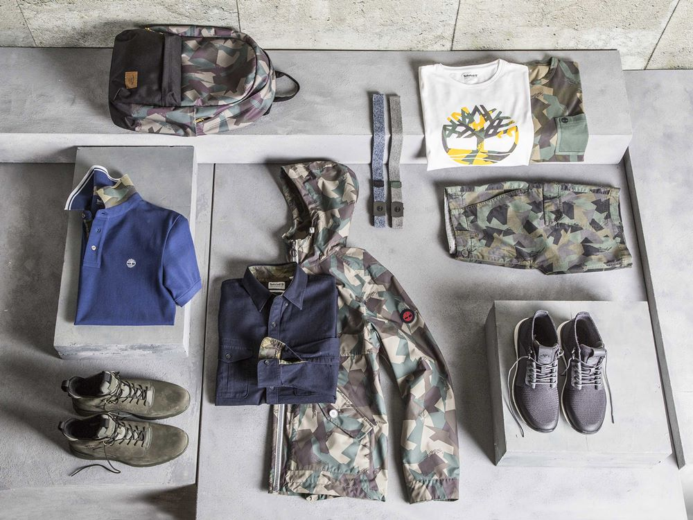 timberland camouflage cover accessories - Timberland 迷彩系列 探险城市!