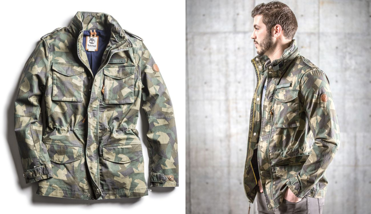timberland camouflage crocker mountain men jacket - Timberland 迷彩系列 探险城市!