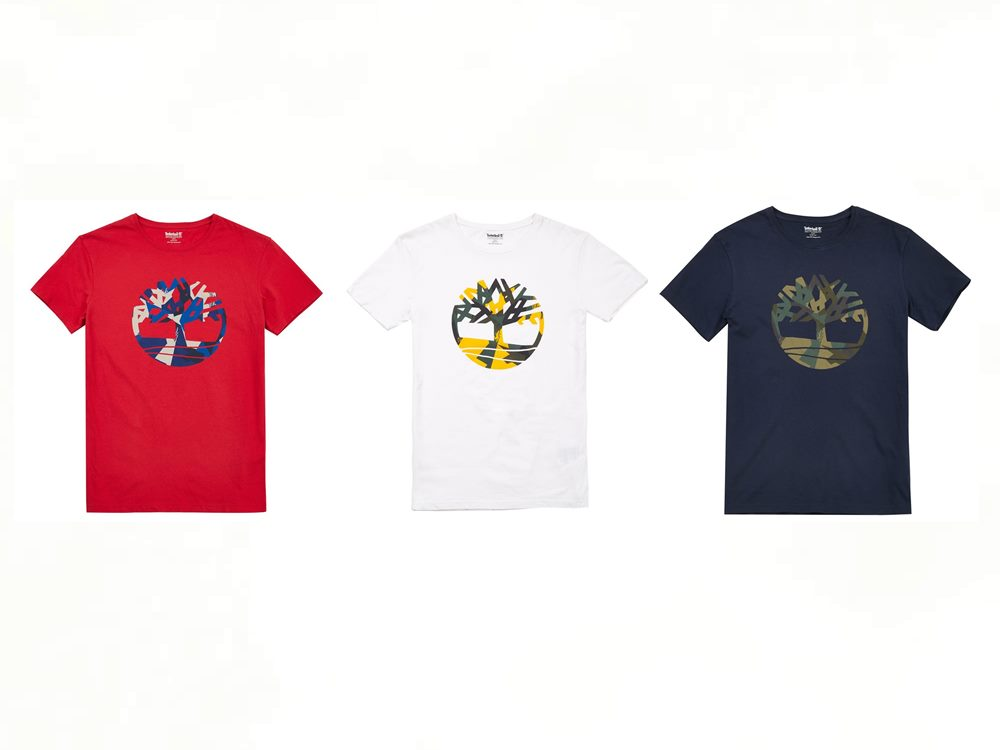 timberland camouflage kennebec river brand tee - Timberland 迷彩系列 探险城市!