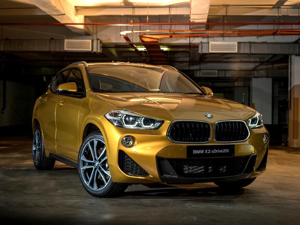 BMW first ever BMW X2 luxury car 1  - BMW X2 跑车风格的休旅车