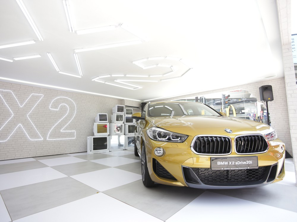BMW first ever BMW X2 luxury car 2 - BMW X2 跑车风格的休旅车