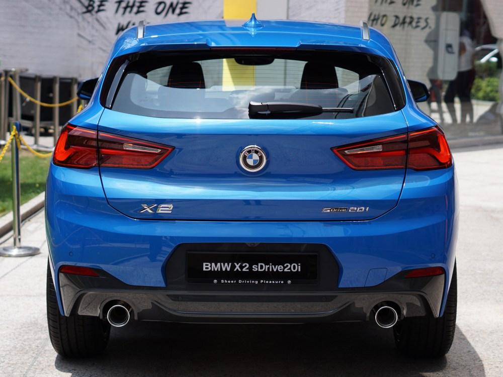 BMW first ever BMW X2 luxury car 5 - BMW X2 跑车风格的休旅车