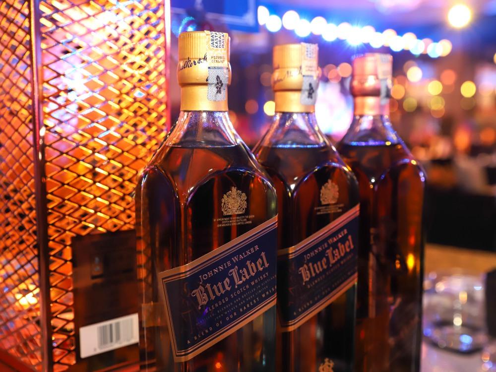 Johnnie Walker Blue Label Tom Dixon BIG - Johnnie Walker 美酒晚宴, 与你共享精髓!