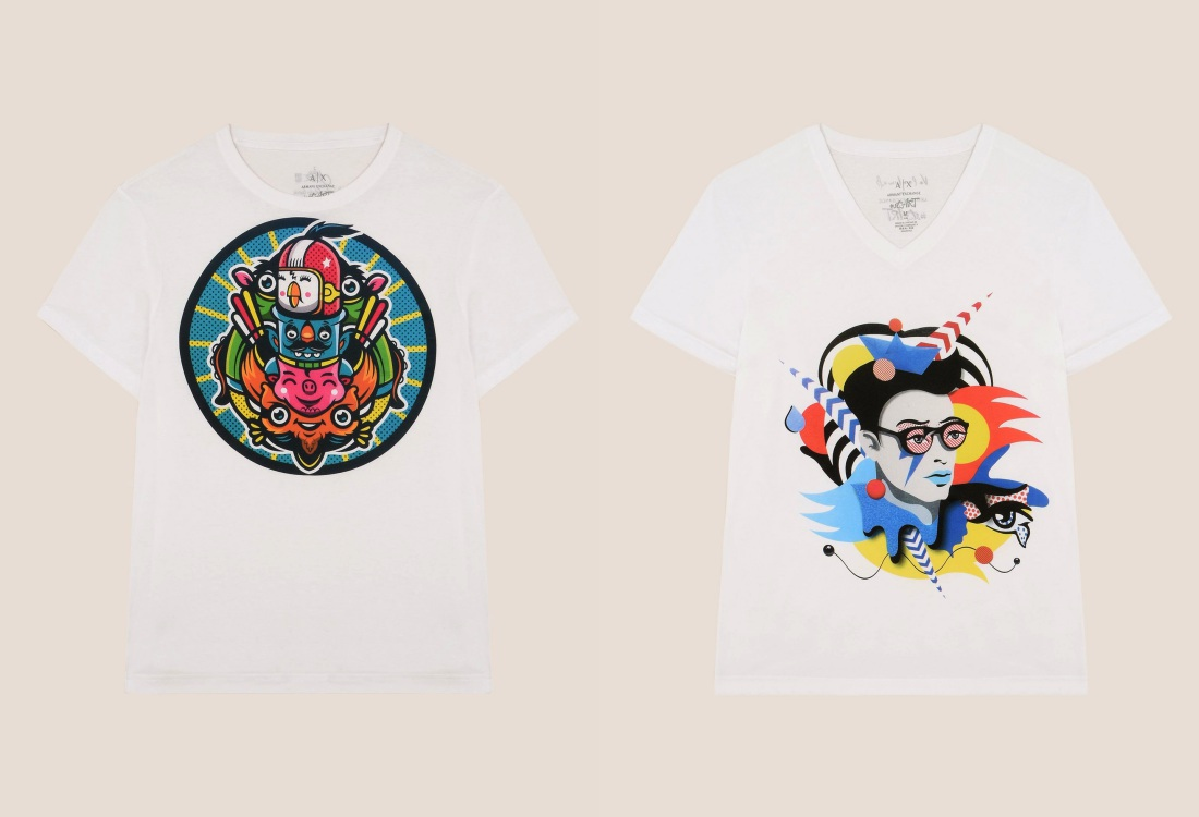 ax armani exchange st art project for spring summer collection 1 - Armani Exchange 大玩街头艺术!