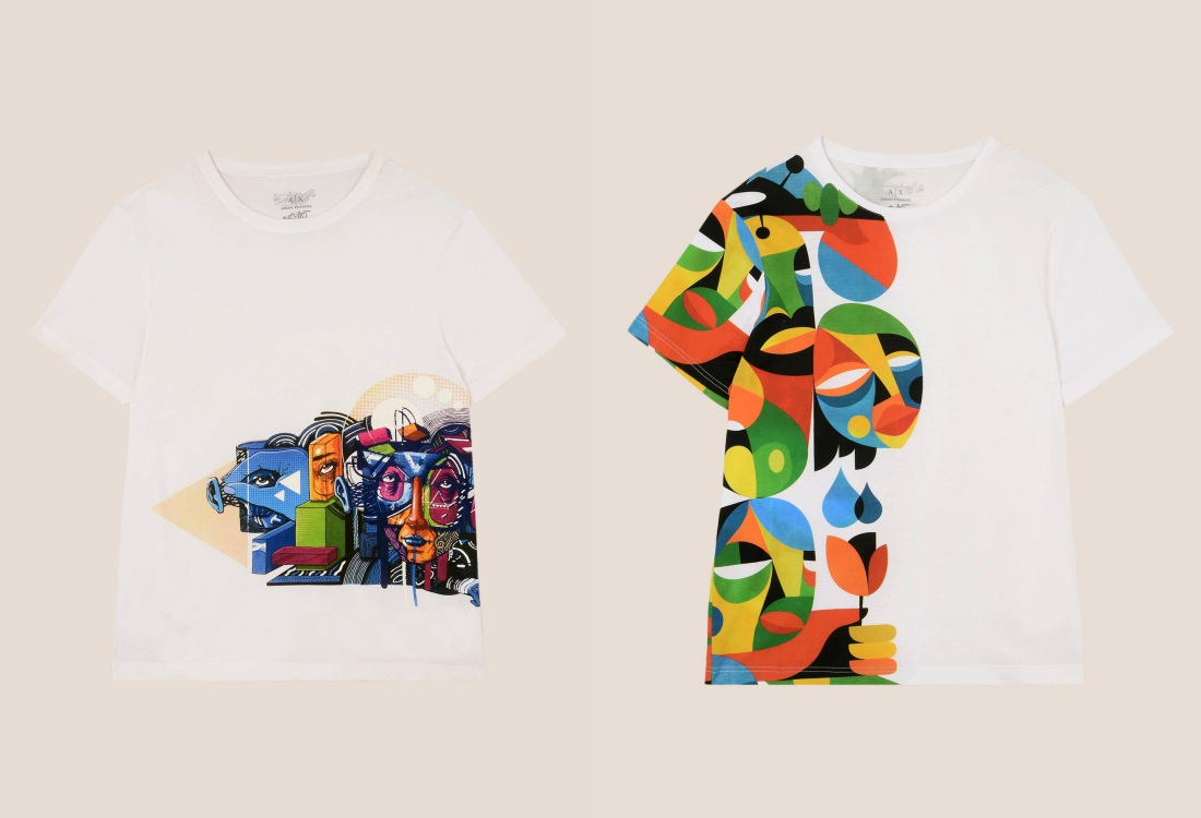 ax armani exchange st art project for spring summer collection 3 - Armani Exchange 大玩街头艺术!