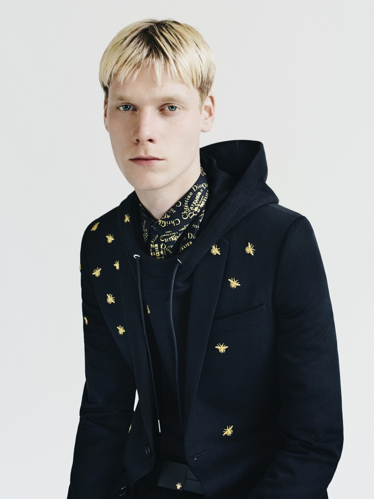 dior homme gold capsule by paolo roversi 3 - Dior Homme Gold Capsule 内敛的奢雅华丽