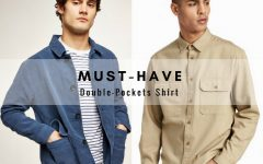 double pockets men fashion style BIG  240x150 - 时尚风潮,少不了一件双口袋服饰!