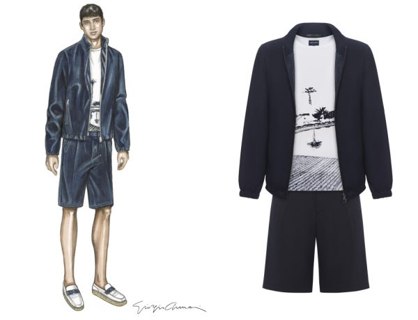 giorgio armani ss18 summer wardrobe collection BIG  600x460 - Giorgio Armani 都会型酷,迎接明朗夏日