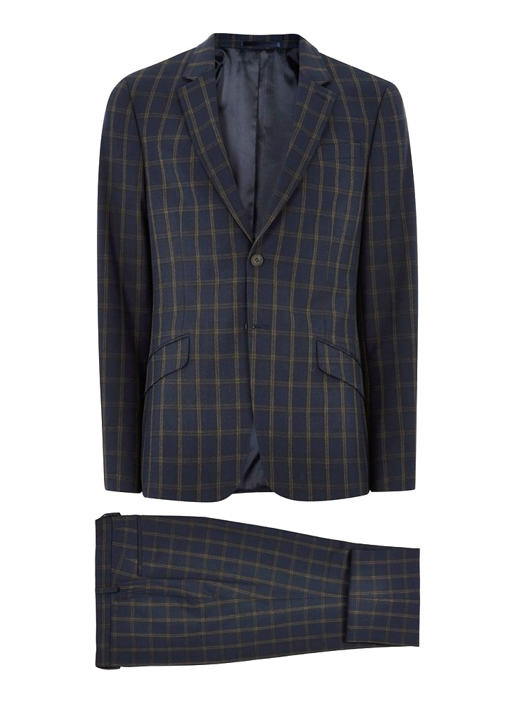 how to style a check blazer suit look 1  - 要跳脱刻板形象,为何不选择格纹西装?