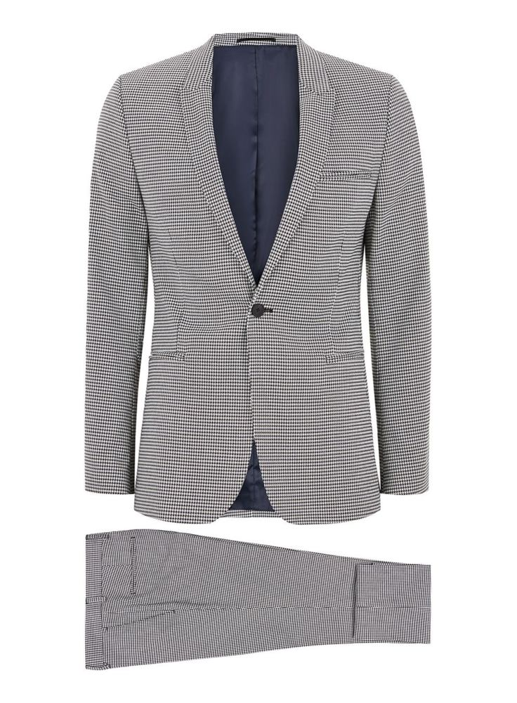 how to style a check blazer suit look 3 - 要跳脱刻板形象,为何不选择格纹西装?