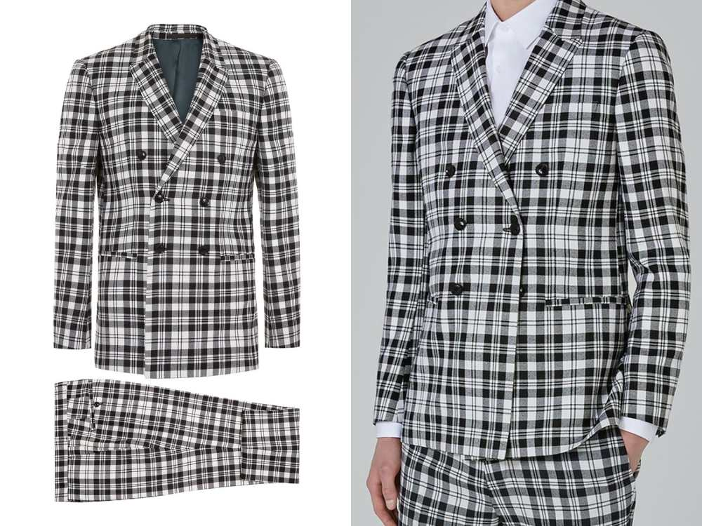 how to style a check blazer suit look 4 - 要跳脱刻板形象,为何不选择格纹西装?