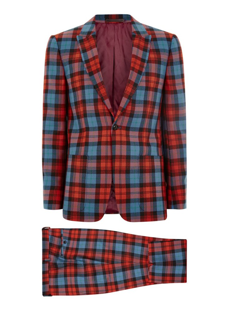 how to style a check blazer suit look 5 - 要跳脱刻板形象,为何不选择格纹西装?