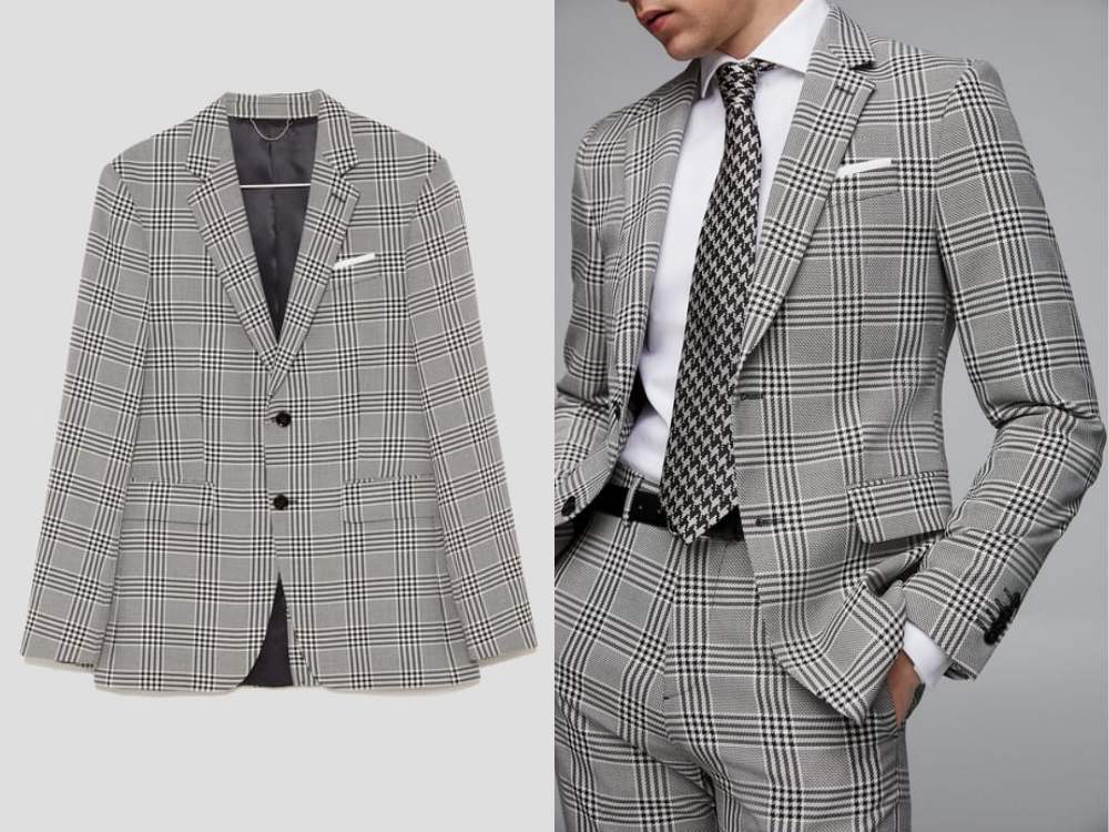how to style a check blazer suit look 6 - 要跳脱刻板形象,为何不选择格纹西装?