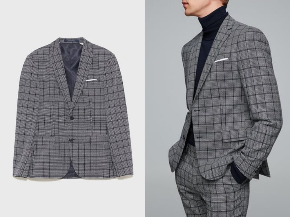 how to style a check blazer suit look 7 - 要跳脱刻板形象,为何不选择格纹西装?