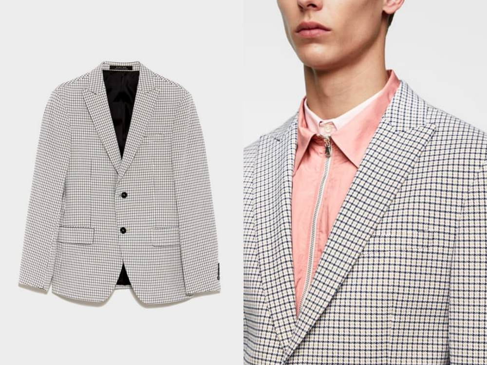 how to style a check blazer suit look 8 - 要跳脱刻板形象,为何不选择格纹西装?