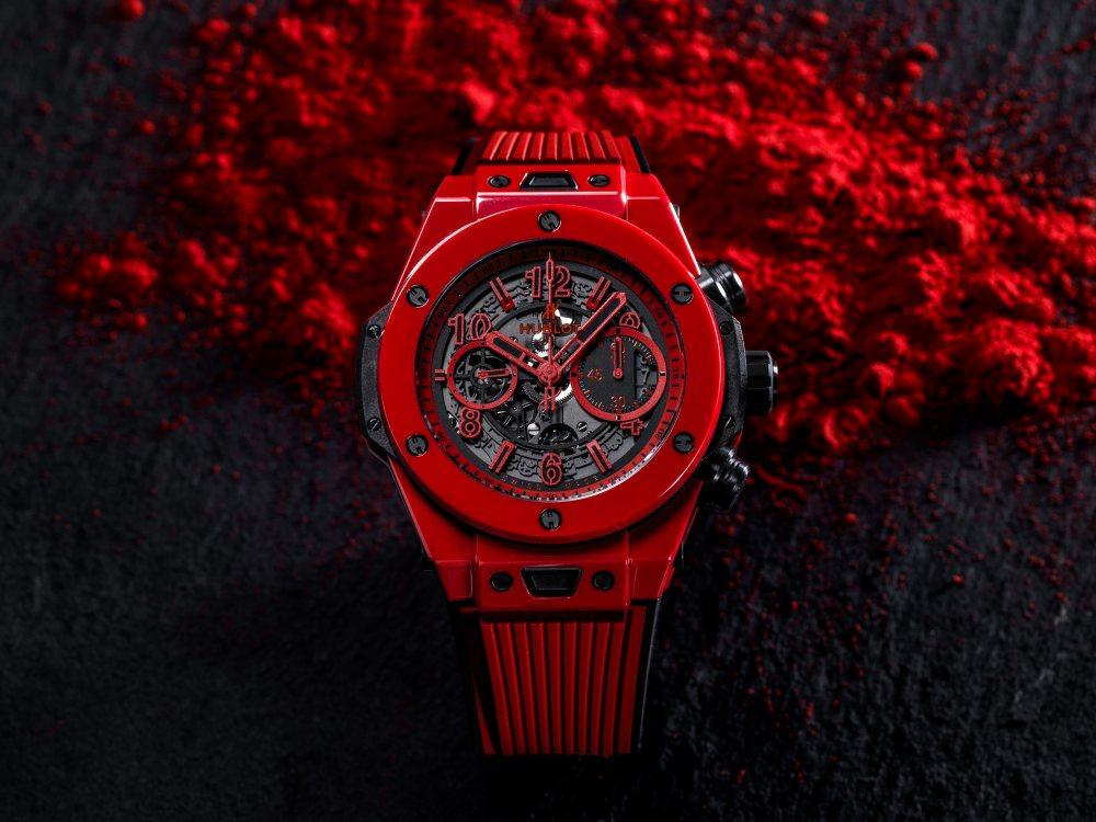 hublot Big Bang Unico Red Magic 2 - Hublot 首创红陶瓷,强势登场!