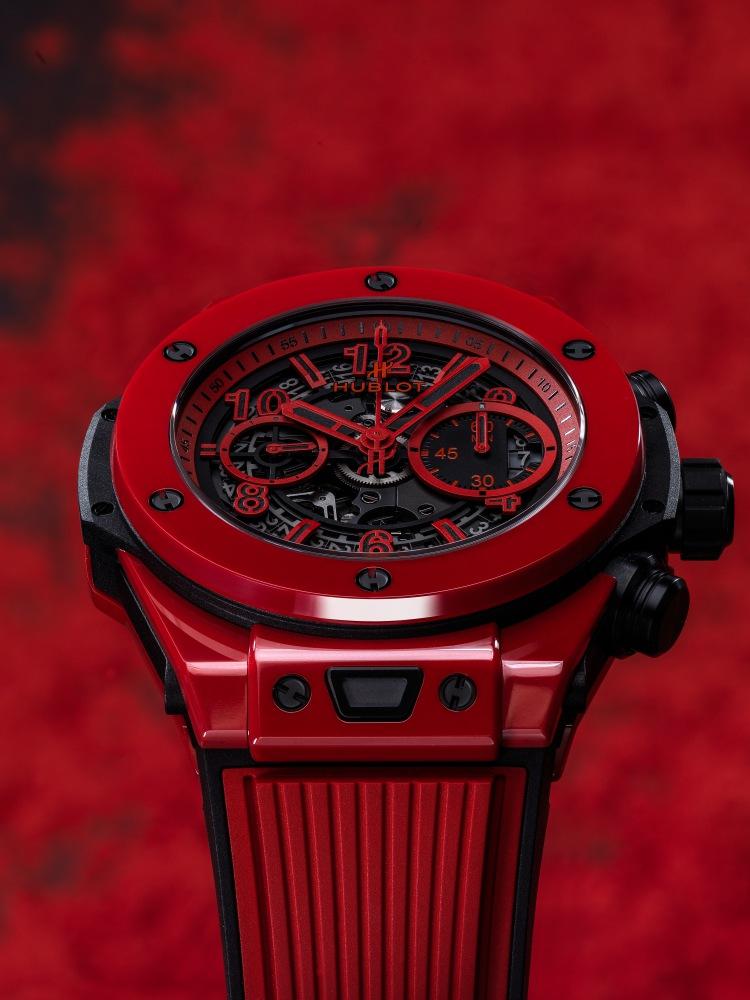 hublot Big Bang Unico Red Magic 3 - Hublot 首创红陶瓷,强势登场!