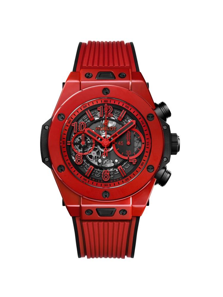 hublot Big Bang Unico Red Magic 4 - Hublot 首创红陶瓷,强势登场!