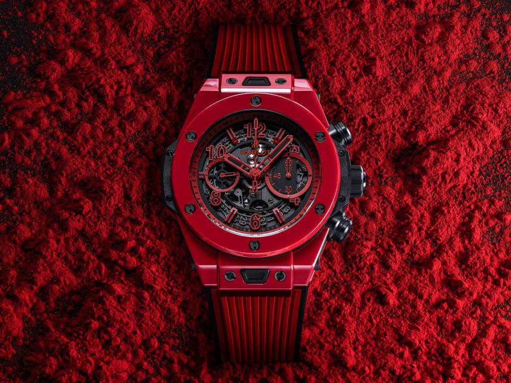 hublot Big Bang Unico Red Magic BIG  - Hublot 首创红陶瓷,强势登场!