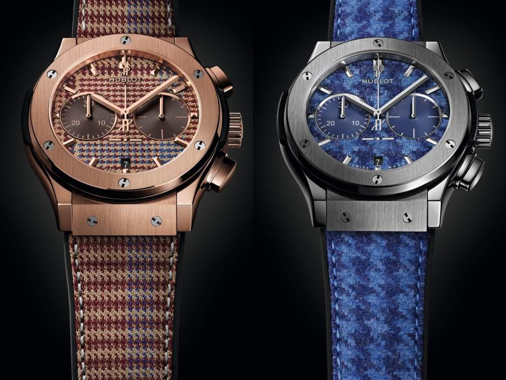 hublot classic fusion chronograph italia independent 4 - Hublot 重温经典面料,展现奢雅美感!