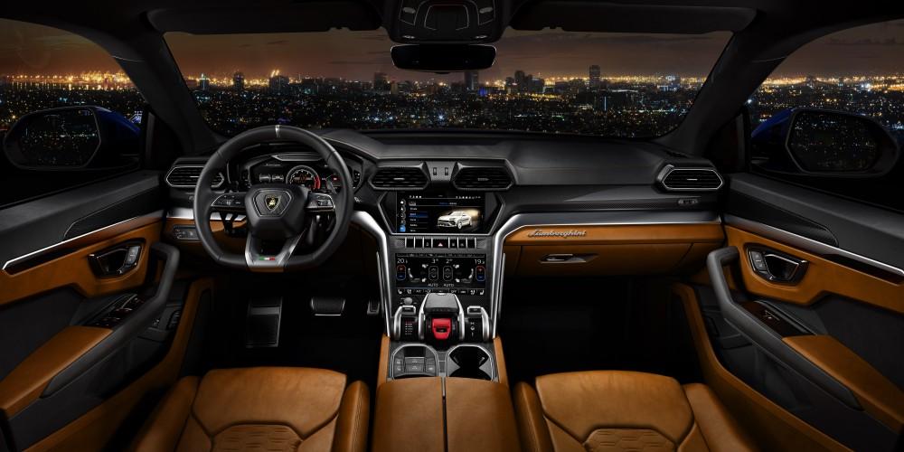 lamborghini urus luxury car 10 - Lamborghini Urus 超强休旅车,来势汹汹!