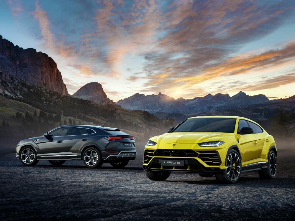 lamborghini urus luxury car BIG  - Lamborghini Urus 超强休旅车,来势汹汹!