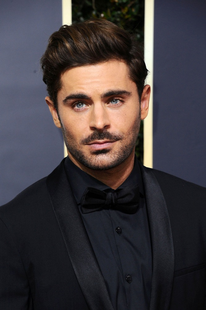men hairstyles tips for different face shapes zac efron  - 你的脸型有你适合的发型!