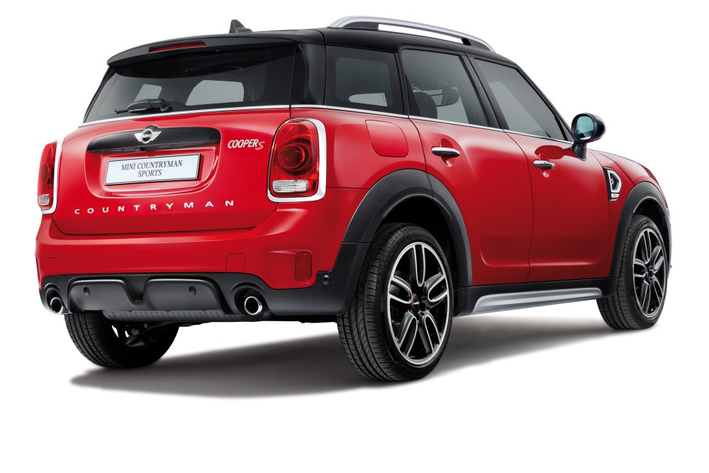 mini countryman plug in hybrid and mini cooper s countryman sports 15 - MINI Countryman 都会动感,酷帅出行!