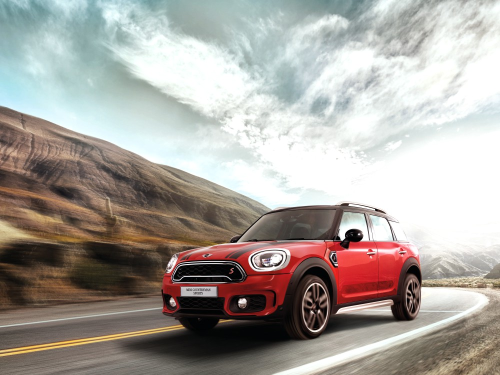 mini countryman plug in hybrid and mini cooper s countryman sports 16 - MINI Countryman 都会动感,酷帅出行!